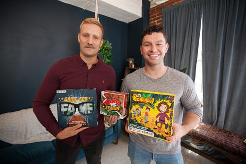 Julian Miller and David McGranaghan (husbands/owners)
