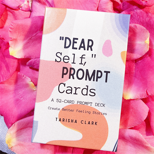 Dear Self: Prompt Cards for daily journaling and meditation