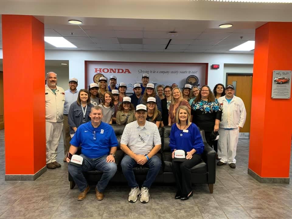 Teachers Tour Our Largest Manufacturing Companies