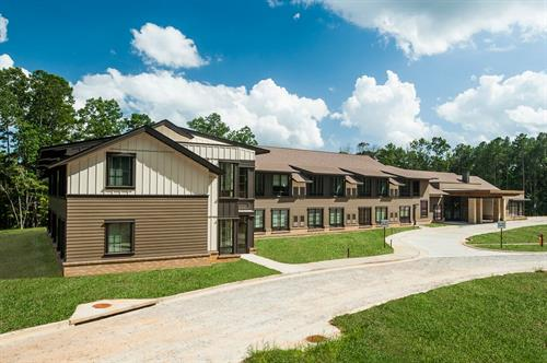 Our brand new 41 room, state-of-the-art McKanna-Sandrock Retreat Center