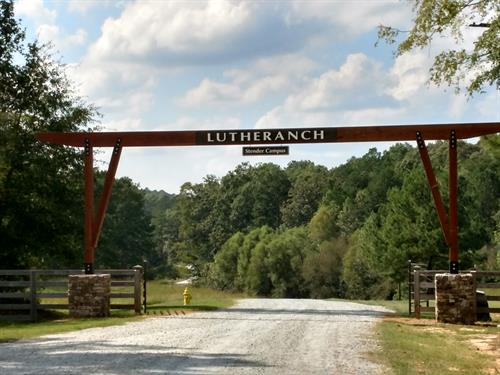Welcome to Lutheranch, our main entrance gate