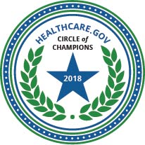 CMS Circle of Champions for number of lives enrolled during Open Enrollment