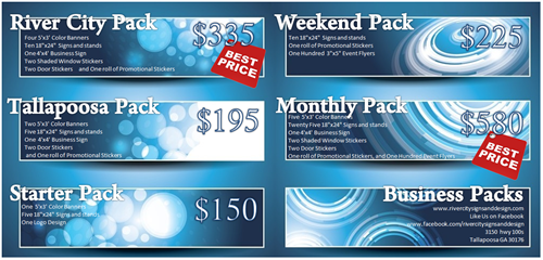 Promo Packs for Businesses