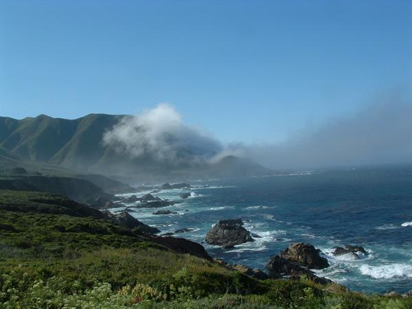 Big Sur coast line