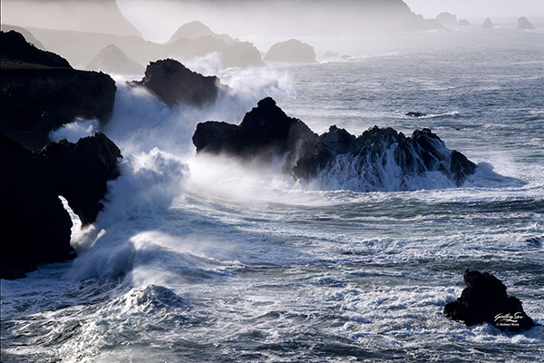 Rising Storm Photograph by Hellmut Horn of Gallery Sur
