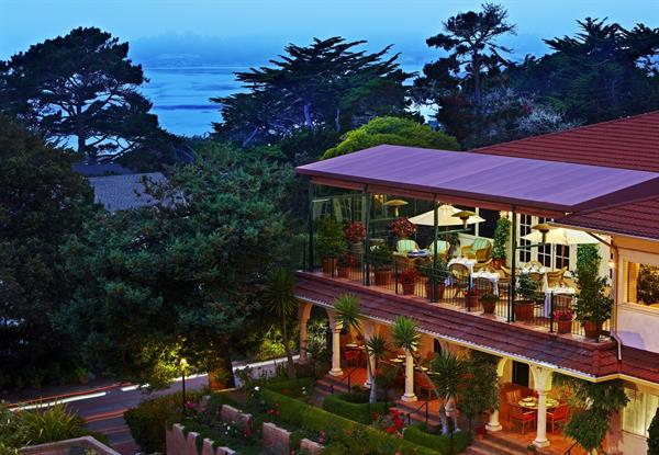 "For over 100 years La Playa Carmel resort has been known as the ""Grande Dame of Carmel"""
