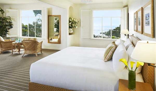 La Playa Carmel features 75 guest rooms with spectacular ocean, garden or estate views