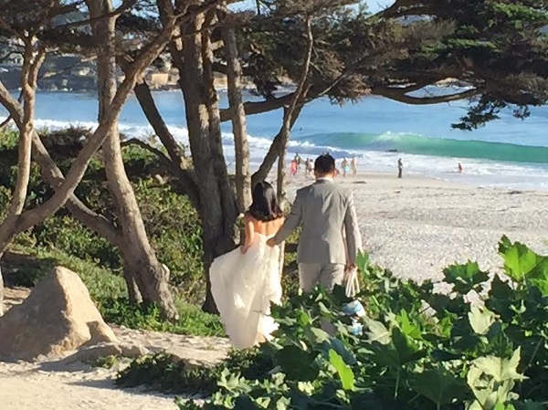 Carmel Beach Wedding