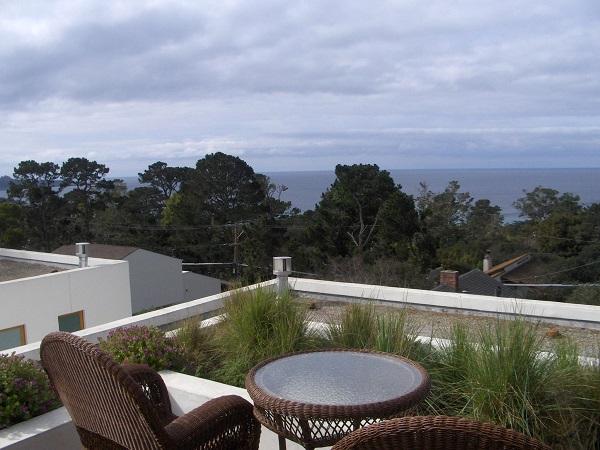 Ocean View Hotel Room Deck Carmel, Ca