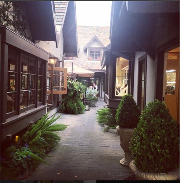 Cayen Collection Courtyard entrance