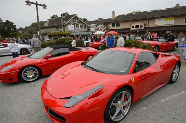 Annual Ferrari Event in August