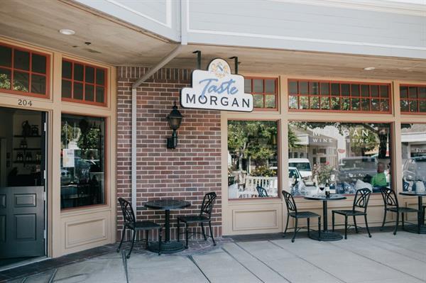 Taste Morgan Outside