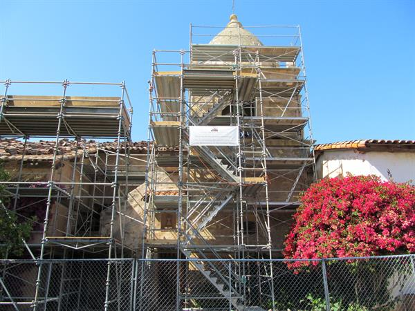 Restoring the Mission Basilica