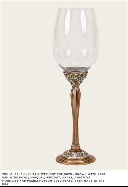 Edgar Berebi's stemware, frames, collectible boxes, cabinet and door hardware