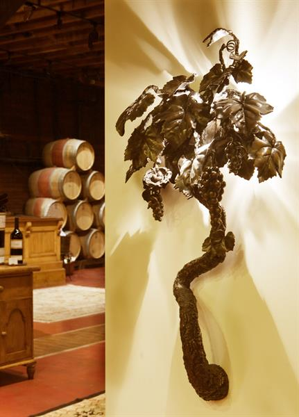 Grapevine Bronze Sculptures by Anne Thull