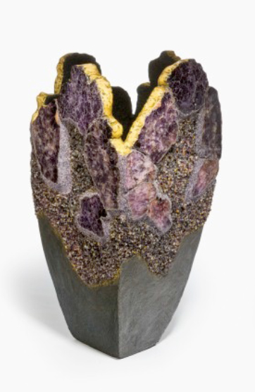 Nicholas Lysaght's Earth's Minerals and Semi Precious Stone Sculptures (this one is Sold)