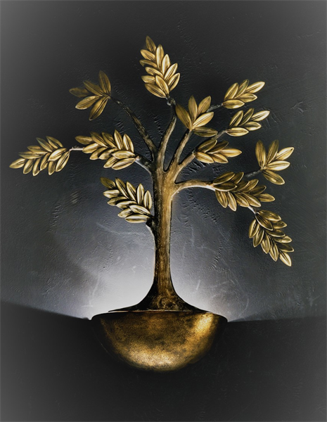 Tree Interior Sconce