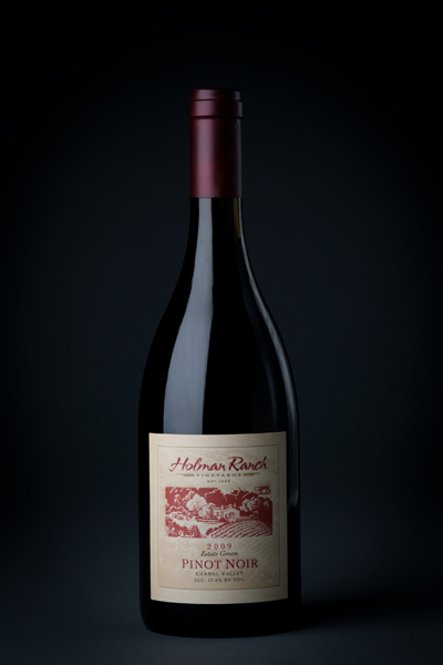 Holman Ranch Pinot  Noir Wine Label