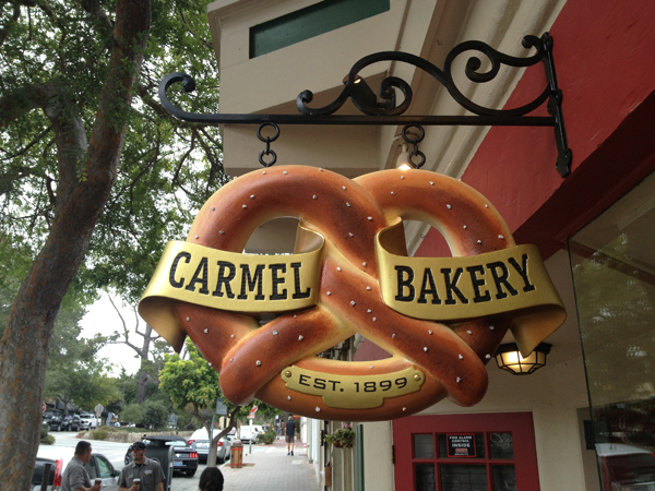 Carmel Bakery Sign, Carmel