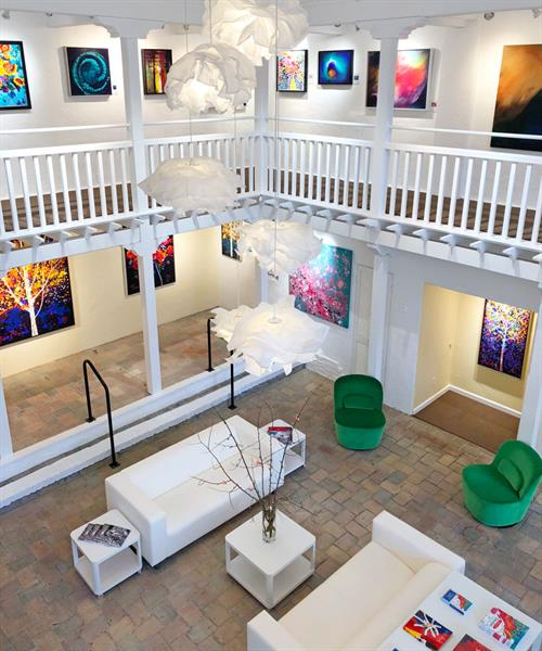 Meuse Gallery interior view