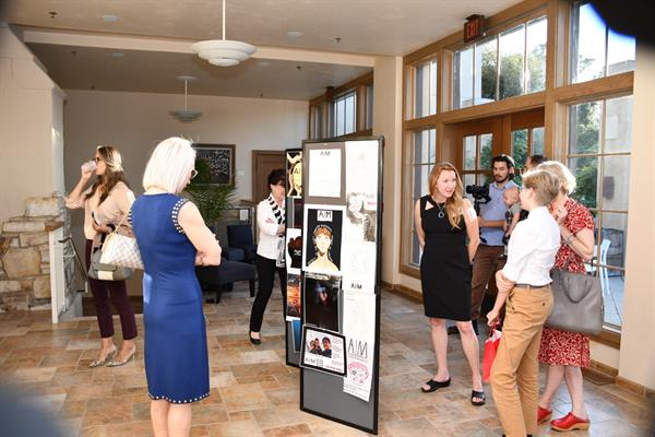 Annual AIM for Awareness Ad Contest Receptions in Carmel and Salinas