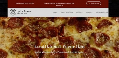 heirloom pizza co