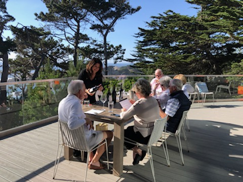 Private At Home WIne Tasting in Carmel Highlands