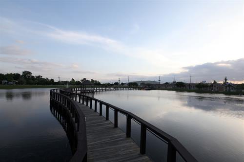 Large lake onsite