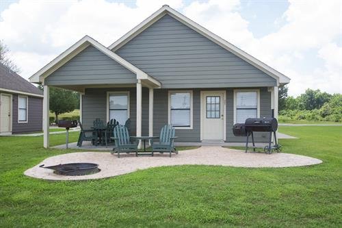 No RV?  We have camping cabins.  Experience camping with some luxuries of home
