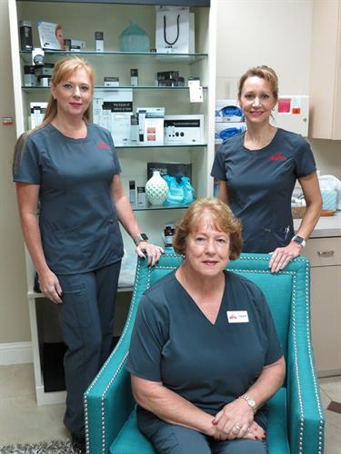 Kimberly, Claire & Connie! Your Nurse Practitioners