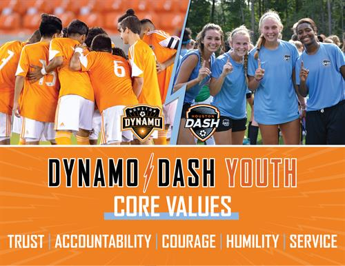 Our club believes in, and follows, these Core Values