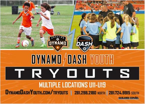 Tryouts for next years competitive teams are coming up