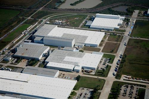 Inteplast Group Lolita, Texas / Roof Coatings and Standing Seam Metal Roof Replacement