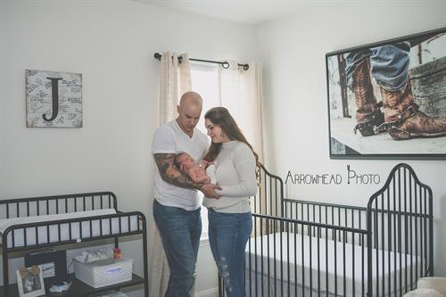 Conroe newborn photography by Arrowhead Photo