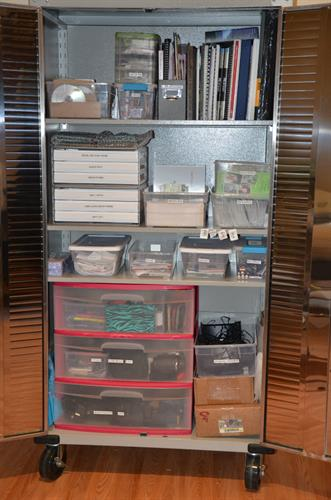 After Photography cabinet