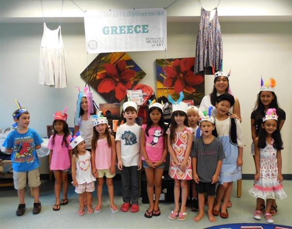 Friends of the SWB Library sponsored a program, 'Passport Pals' where children learned about the history, food, and customs of foreign countries.