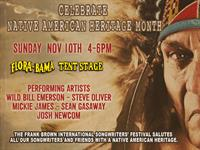 Frank Brown Songwriters' Festival - Native American Tribute Show