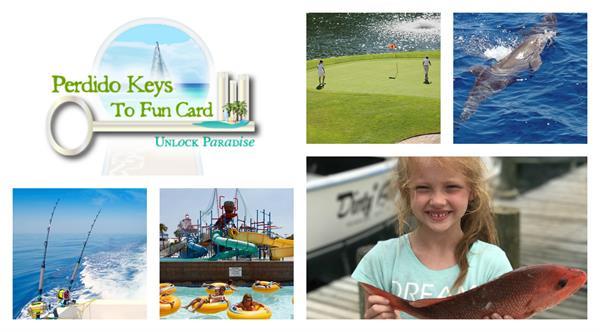 FREE passes to all of your favorite Perdido Key activites with our Perdido Keys to Fun Program! https://www.perdidokeyflorida.com/keys-to-fun