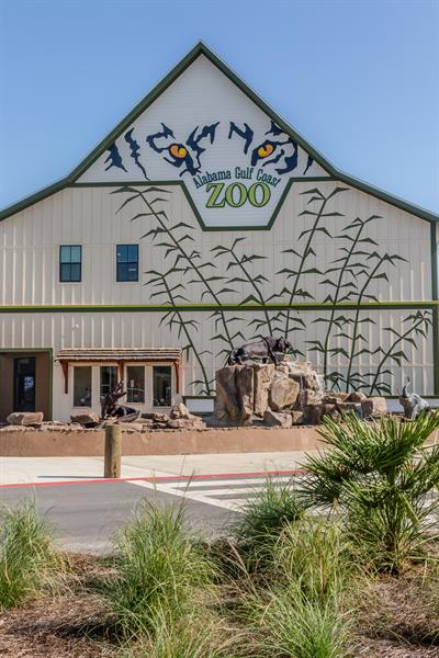 Zoo Entrance and Golf Shop