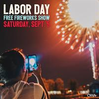 Labor Day Weekend Fireworks Show