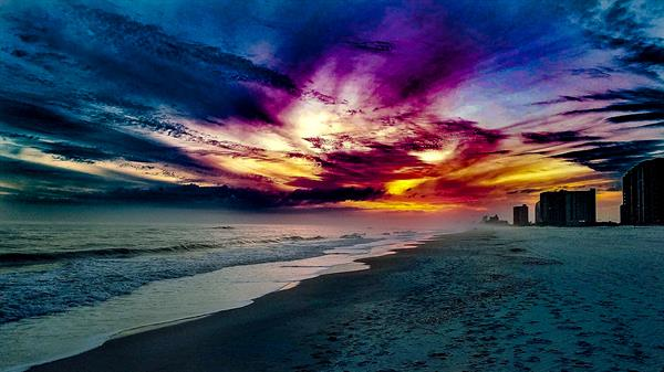 Incredible Sunset on Perdido Key