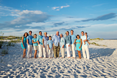 Beach Family Photography Perdido Key FL