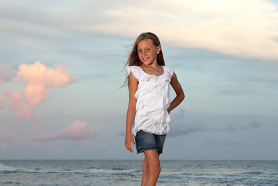Beach Family Photographer Perdido Key sunset