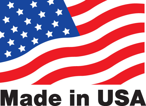 All products proudly made in the USA