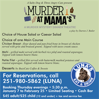 Murder at Mama's Dinner Theatre
