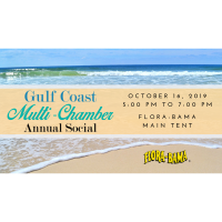 The Annual Gulf Coast Multi-Chamber Business After Hours returns to the Flora-Bama on Wednesday, October 16th!
