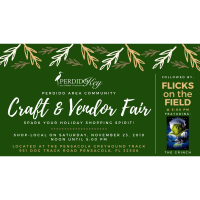 Perdido Area Community Craft & Vendor Fair plus Holiday Flicks on the Field Ft. the Grinch to Kick-off the Holidays!