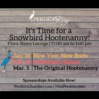 Snowbird Hootenanny Returns to Perdido in 2020!