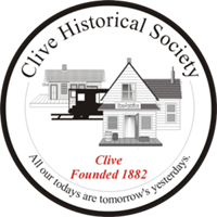 Clive Historical Society FUNdraiser