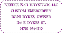 Needle N/A Haystack